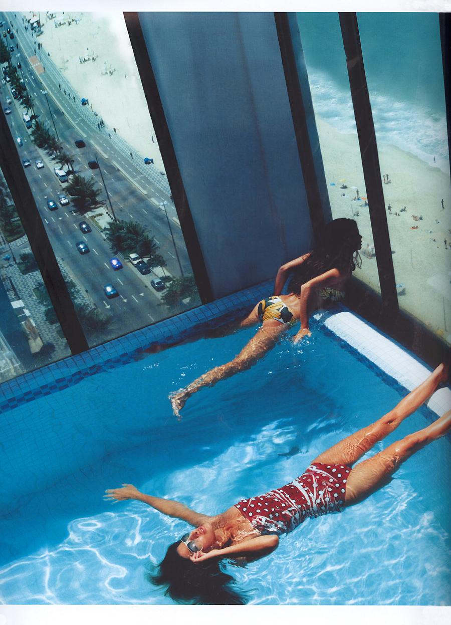 Surrealismus meerschweinchenreport for Pool floor